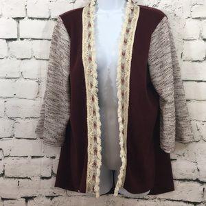 Umgee sweater/kimono